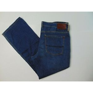 Tommy Bahama 38 X 32 Blue Jeans Straight Leg Denim